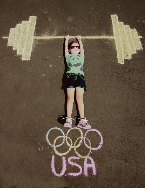 ребенок спорт