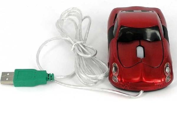 компьютерная мышка в виде машины