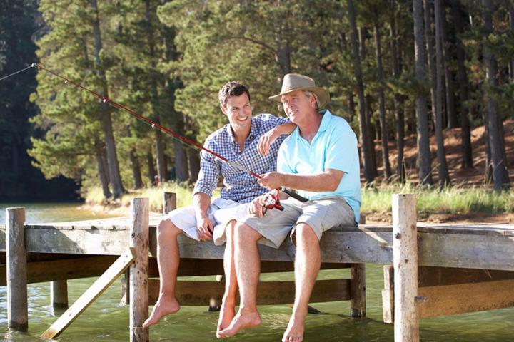Отец, сын, рыбалка