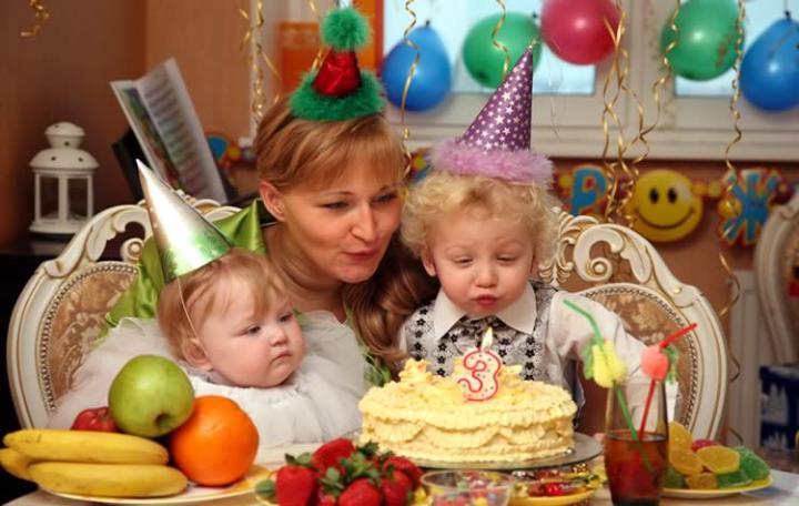 День рождения 3 годика