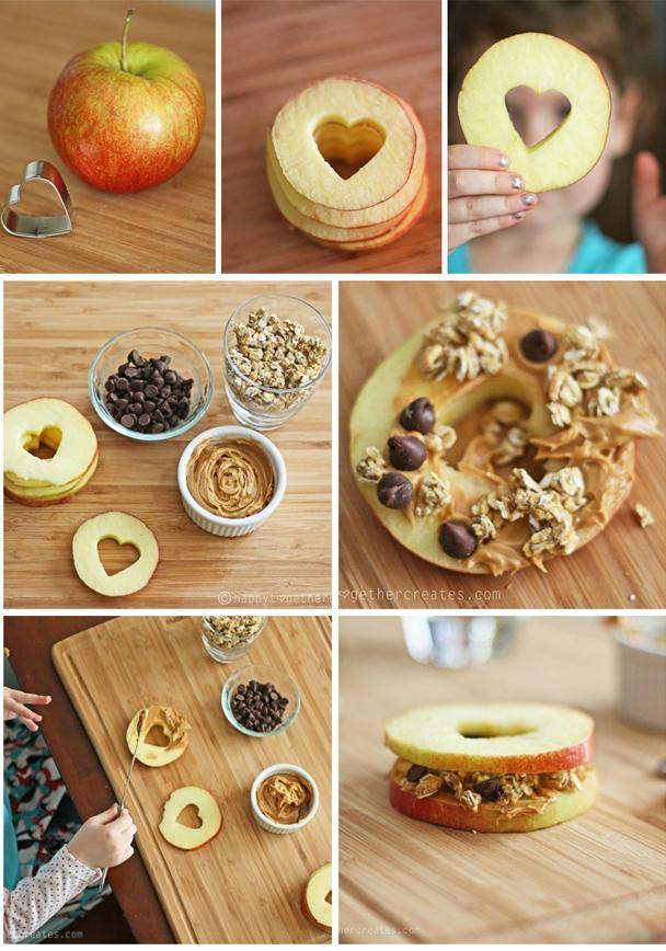 Подарок маме - Яблочный сендвич