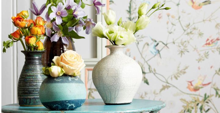 Стильная ваза для цветов