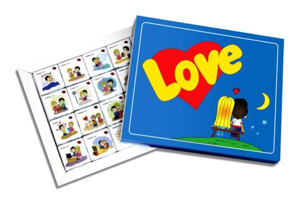 шоколадный набор love