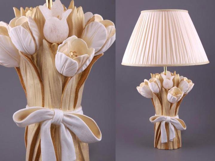 Настольные лампы своими руками