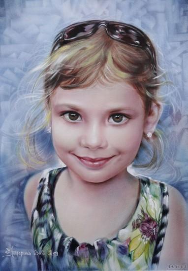 Портрет девочки 10 лет