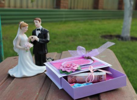 деньги - свадебный подарок