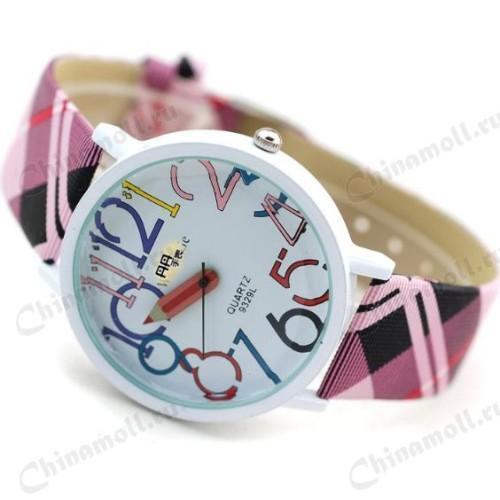 Стильные детские часы для девочки