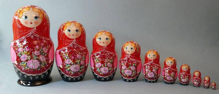 матрёшка - сувенир из России