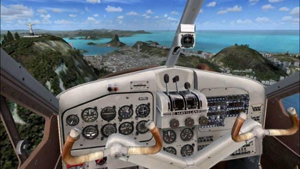 виртуальный полет