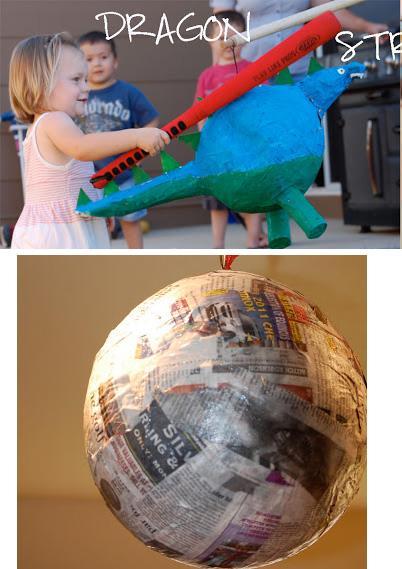 пиньята на основе воздушного шара