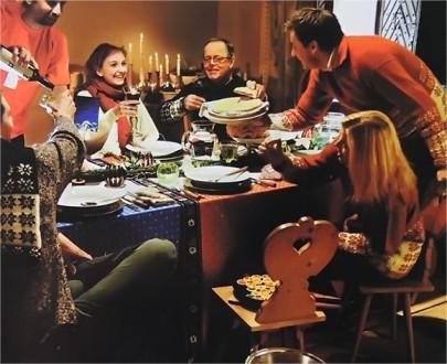 Праздник в семейном кругу