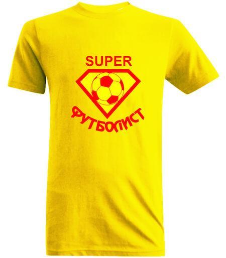 футболка для футболиста