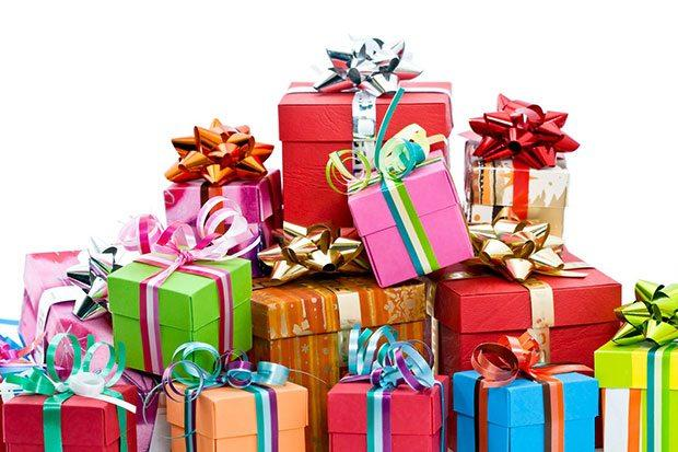 Куча подарков