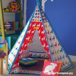 подарок на 1 год мальчику-палатка-домик