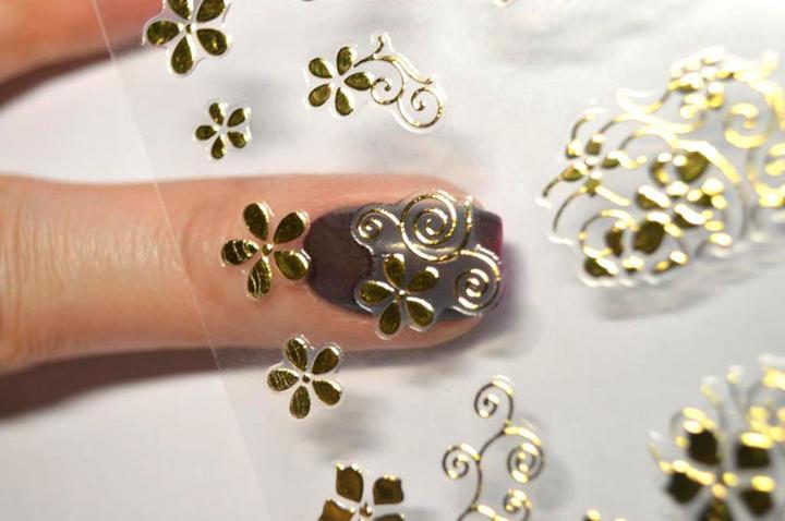 Наклейки на ногти для сестры, в качестве подарка на День Рождения