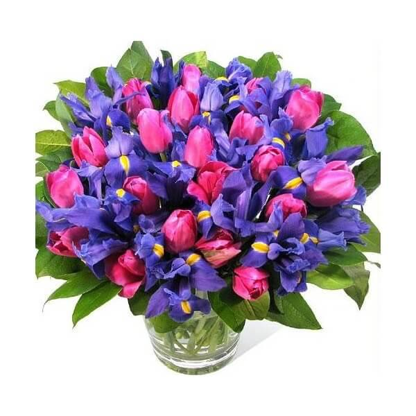Букет цветов женщине