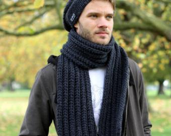 шарф для мужчины