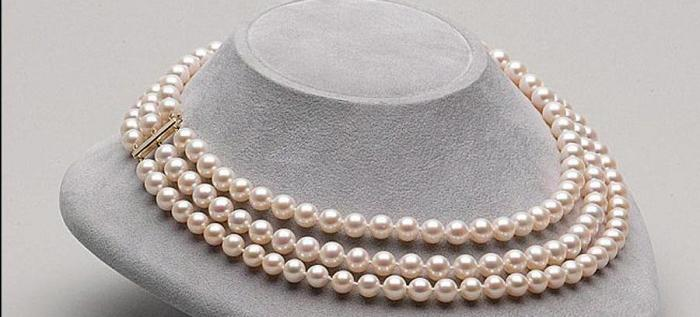 Жемчужное ожерелье для жены на годовщину