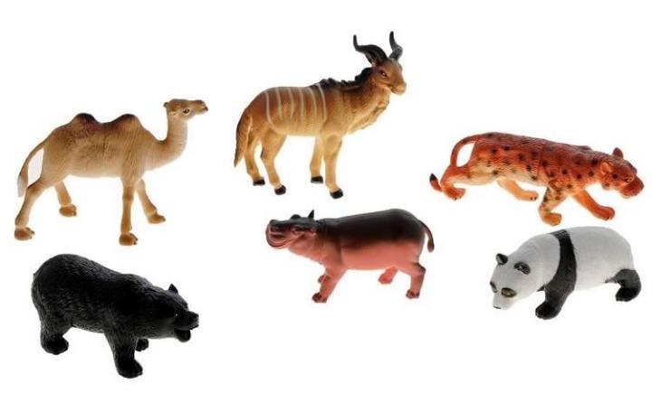 Набор игрушечных животных