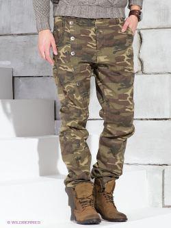 брюки хаки WOT в подарок мужчине
