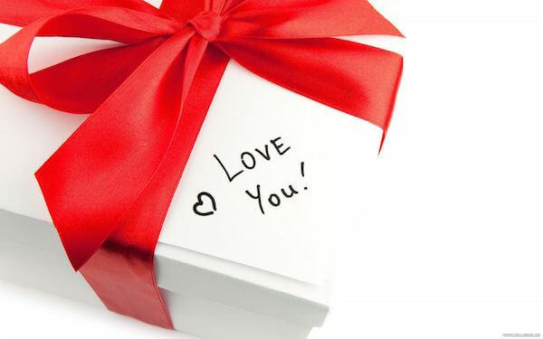 Подарок love you