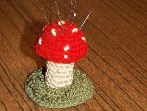 Подарок гриб-мухомор