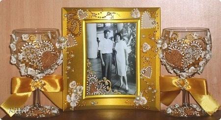 Подарок на золотую свадьбу