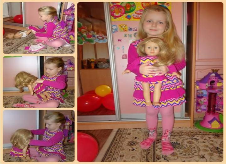 Кукла близняшка