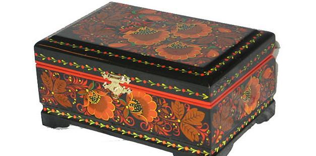 Сувениры из России - шкатулки