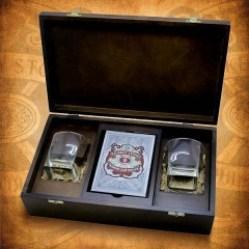 камни для виски в коробке подарок боссу