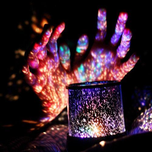 светильник с проектором звездного неба