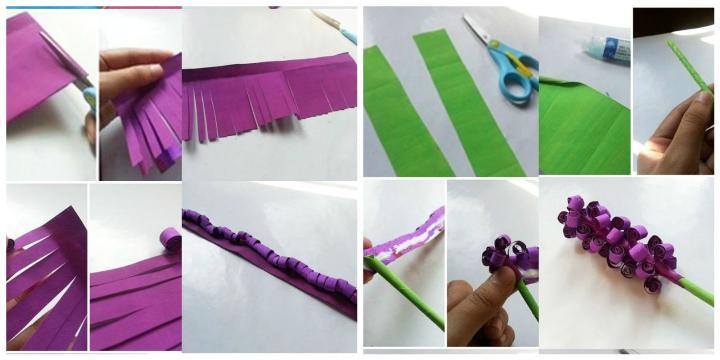 Подарок маме - как сделать гиацинты