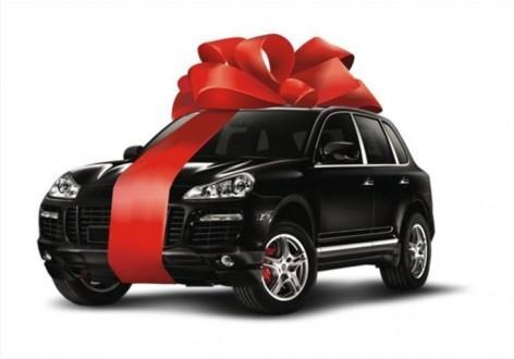 автомобиль - подарок от родителей