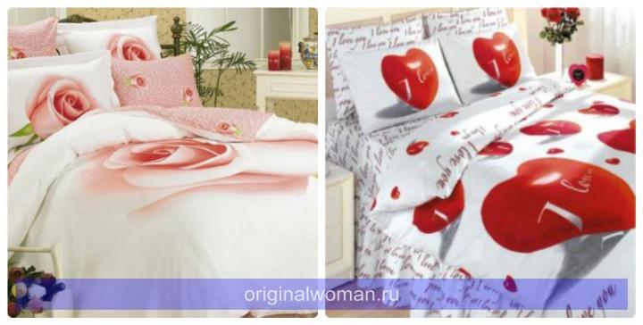 Подарок на свадьбу постельное белье 61