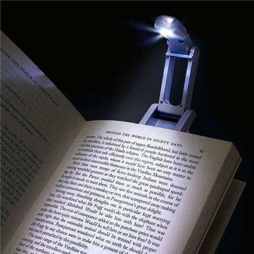 закладка для книг с фонариком