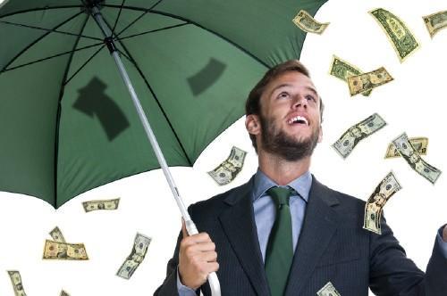 Дождь из денег