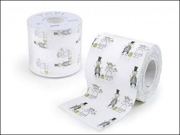 Туалетная бумага на свадьбу