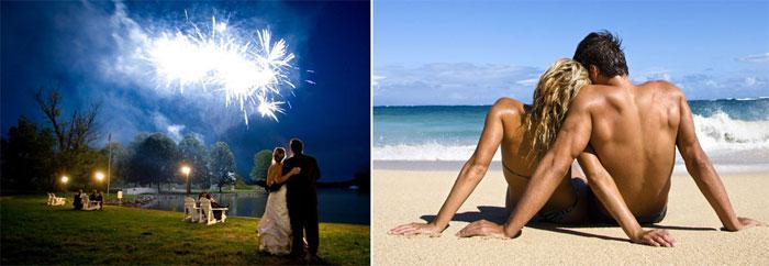 Романтические подарки друзьям на свадьбу