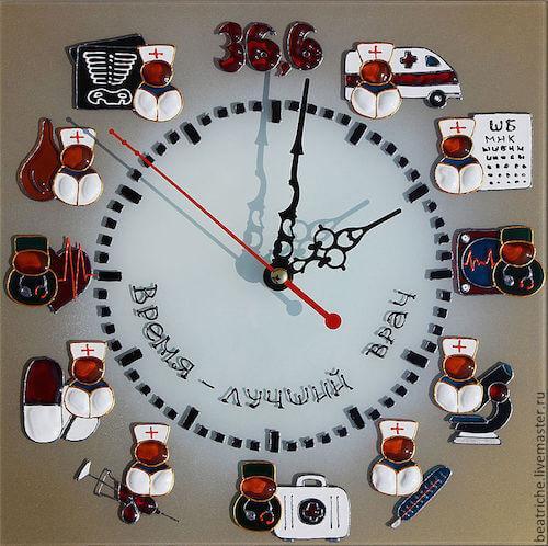 Настенные часы врачу