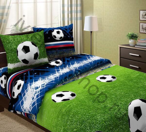 постельное белье футболисту