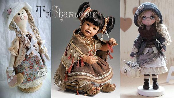 Куклы ручной работы в подарок