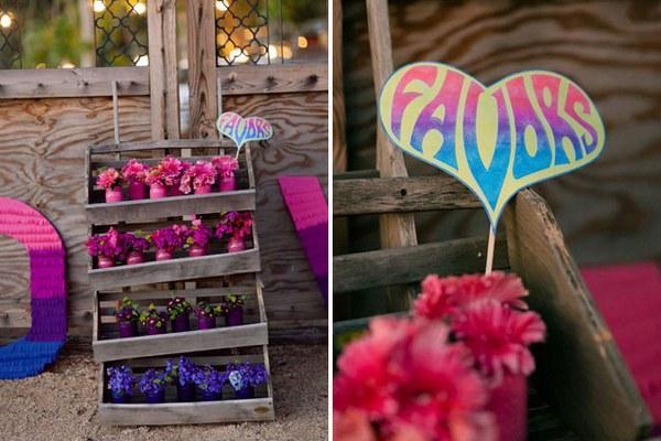 Вырастить для своих гостей цветок в горшке — интересная идея. Фото с сайта http://nashasvadba.net