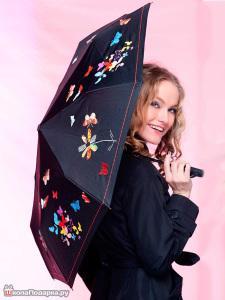 что подарить тельцу женщине-одежда-зонт