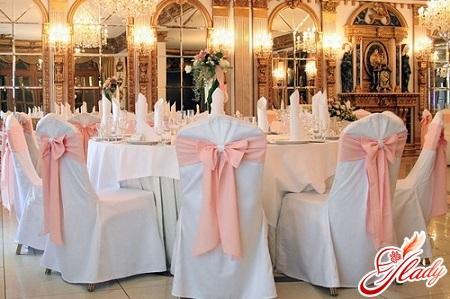 торжество розовой свадьбы