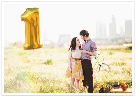 Первая годовщина свадьбы