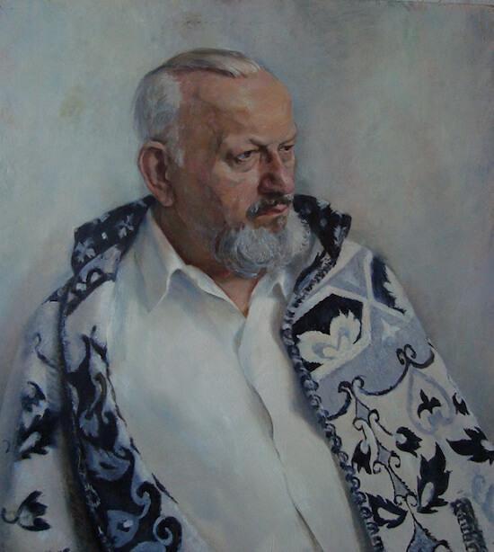 портрет мужчины маслом
