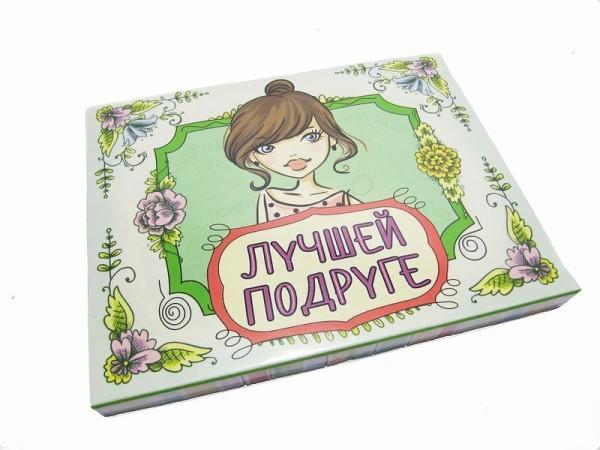 шоколадный подарочный набор для подруге