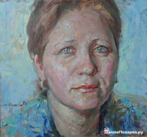 подарок-женщине-на-55-лет-портрет-маслом-300x280