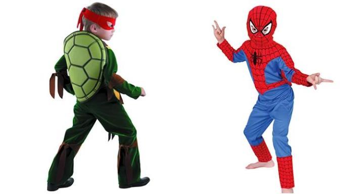 Костюмы супергероев для детей