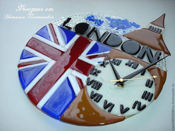 настенные часы Лондон